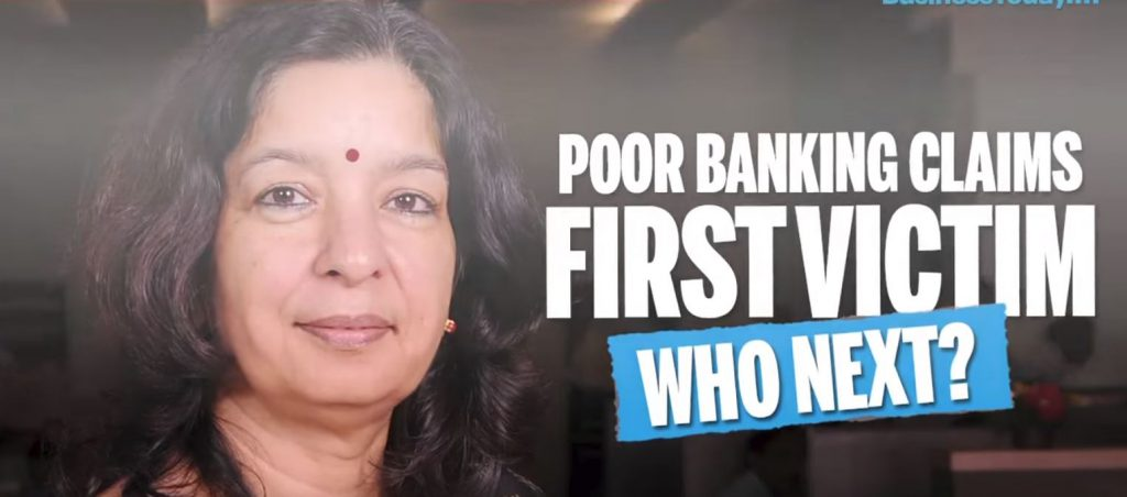 Shikha Sharma the ex CEO of Axis Bank made the scam
