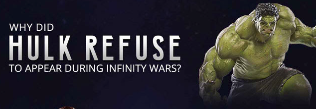 why did hulk refuse to appear during infinity wars