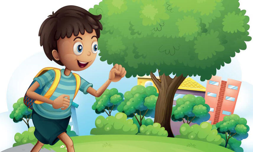 I will go for school Image