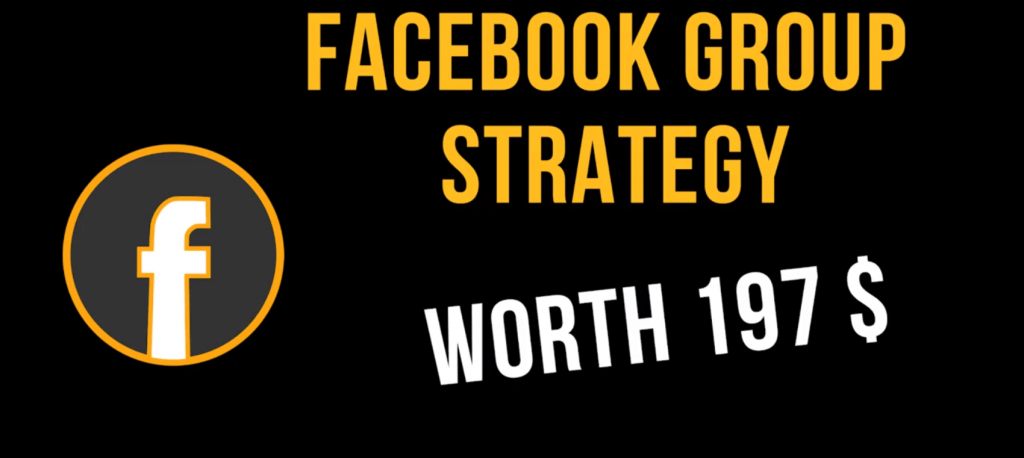 Facebook Group Strategy worth $197 with coupons