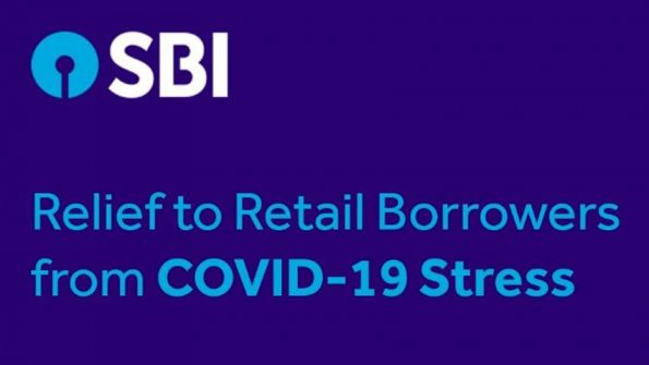 sbi covid relief