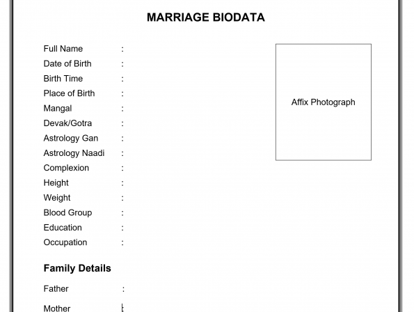 MARRIAGE BIODATA FOR GIRL AND BOY BOTH IMAGE