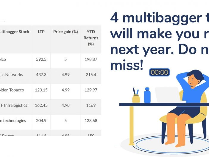 4 multibagger that will make you rich next year. Do not miss!
