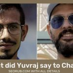 What did Yuvraj say to Chahal? Yuvraj Arrested Video For Comment on Yuzvendra Chahal Bhangi Cast, Quora